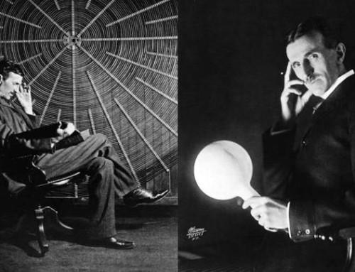 …et c'est pourquoi notre école s'appelle l'Ecole Nikola Tesla.