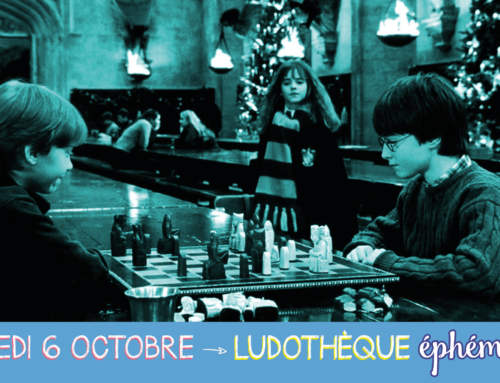 LUDOTHÈQUE ÉPHÉMÈRE – SAMEDI 6 OCTOBRE